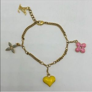 Louis Vuitton limited edition sweet charm bracelet